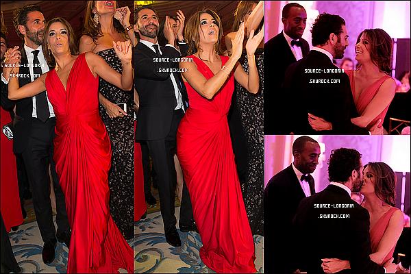 - 25/05/15: La magnifique Eva Longoria était présente au « Global Gift Gala » à l'Hôtel George V à Paris ♥Elle était juste trop belle dans cette robe rouge une vrai femme, elle s'est bien amusée vu les photos trop mignon  avec José. avis? -