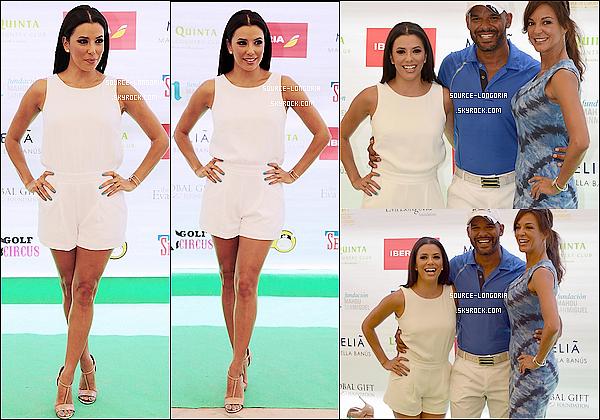 - 04/07/2015: Eva s'est rendu au tournoi de golfde charité organisé à l'occasion du Global Gift Gala à Marbella. -