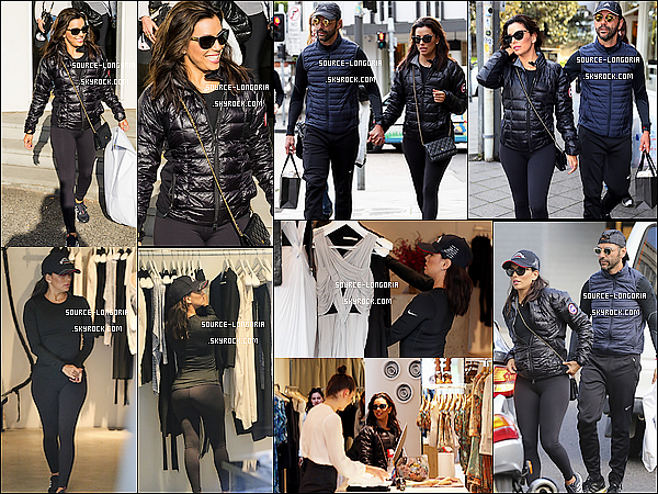 - 20/07/15: Le couple sont allés faire les magasins dans les rues chic de Sydney -