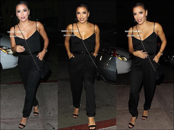 - 08/10/15: L'actrice se rendant à l'anniversaire de Bella Thorne dans son propre restaurant BESO à L.A -