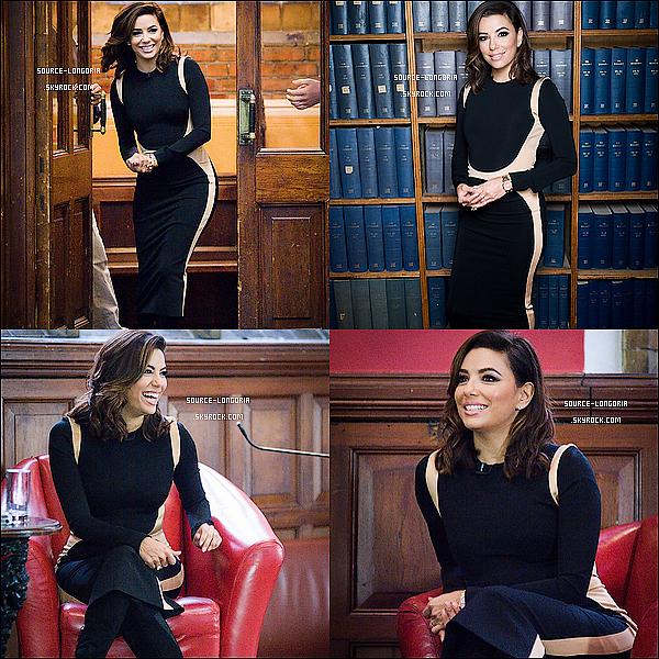 - 30/11/2015: L'actrice Eva est allée rendre visite à l'université Oxford  pour parler de son expérience à Londres. -