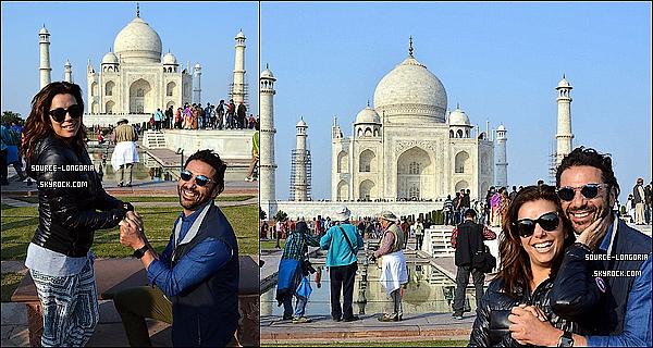 - 15/12/15: Eva son fiancée José sont allés visiter le «  Taj Mahal » en Inde. -