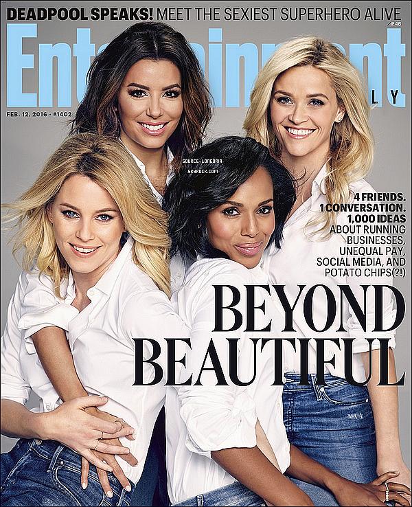 - Eva posant pour le célèbre magazine Entertainment Weekly du mois de Février 2016 pour les Etat Unis ♥Je les trouves toutes superbe! j'adore les photos! la couverture est magnifique. et toi tu en penses quoi donne ton avis?  -