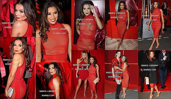 - 08/03/2016: Eva invitée à la soirée privée «L'Oreal Red Obsession Party»  pour représenter L'oréal à Paris.Le rouge va tellement bien à Eva j'adore avec son teint elle est magnifique j'adore les photos c'est très glamour et toi ton avis?♥  -