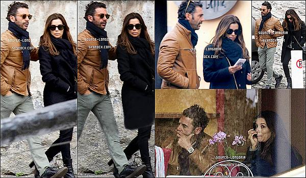 - 28/03/2016: Eva Longoria et son fiancé José Antonio sont allés déjeuner  en Italie.  -