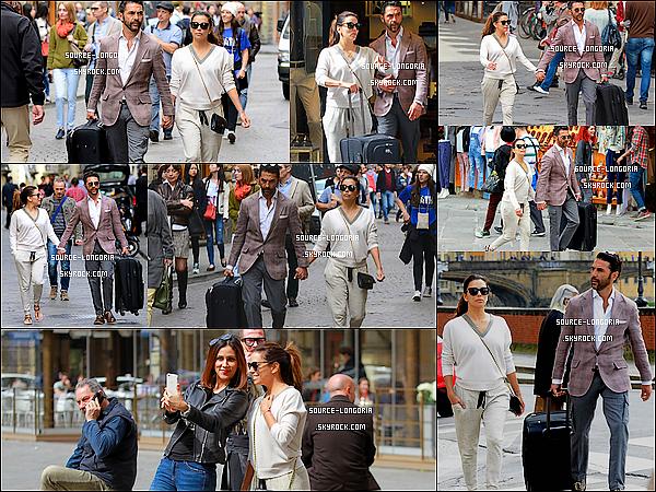 - 31/03/2016:  Eva Longoria et son compagnon José sont allés promener dans les rues de Florence en Italie.Décidément miss Eva visite l'Italie, je pense qu'elle a pris quelques vacances, ils sont trop mignons ensemble et toi ton avis? ?   -