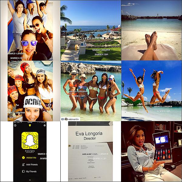 - Découvrez des photos personnelles de Eva poster sur son compte Instagram -