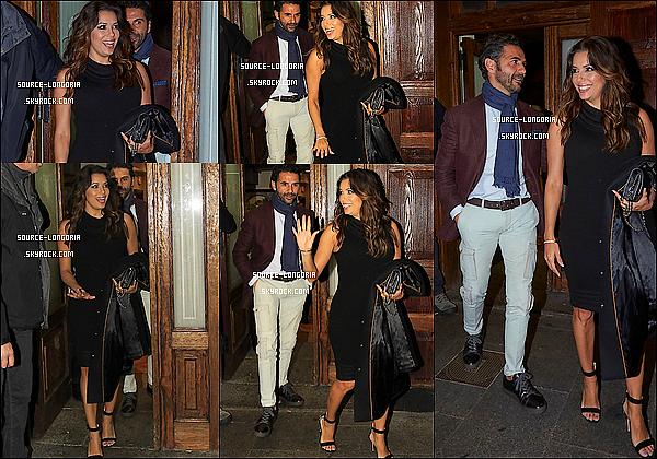 - 01/04/2016: Le soir Eva et José sont allés dîner au restaurant Casa Lucio avec des amis à Madrid (Espagne). -