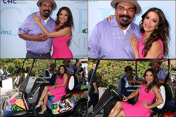 - 02/05/2016: Eva Longoria plus jolie que jamais était présente à «George Lopez Celebrity Golf Classic»   à L.A.Juste un mot : perfection ! elle est sublime le rose lui va trop bien, les cheveux sont top et le maquillage aussi et toi ton avis? ♥  -