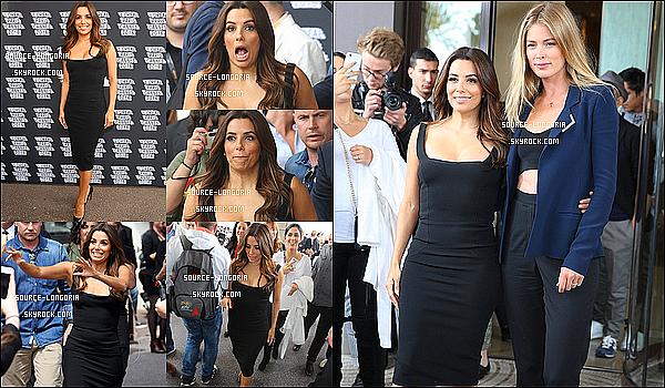 - 11/05/2016:  Eva  et Doutzen Kroes sont allées rencontrées leurs fan devant leur hôtel Martinez à Cannes.Je trouve sa super ce qu'elles font, elles ont pris de leurs temps pour leurs fans c'est rare! j'aime beaucoup Doutzen. un top!  -