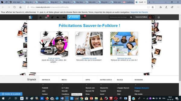 Félicitations Sauver-le-Folklore !