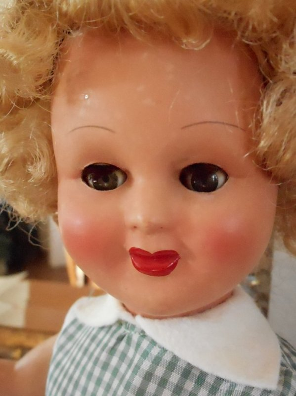 poupée Gégé des années 50 à identifier