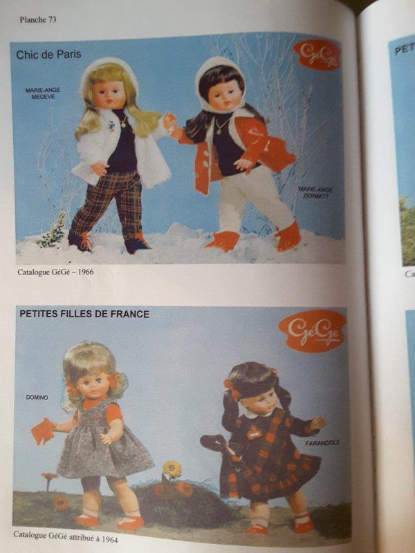 DOMINO 1964   PETITES FILLES DE FRANCE