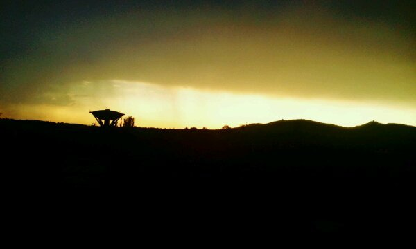 Soubhana allah trop mash'allah le ciel de dieu vue de puis la duchere sur le mont verdin
