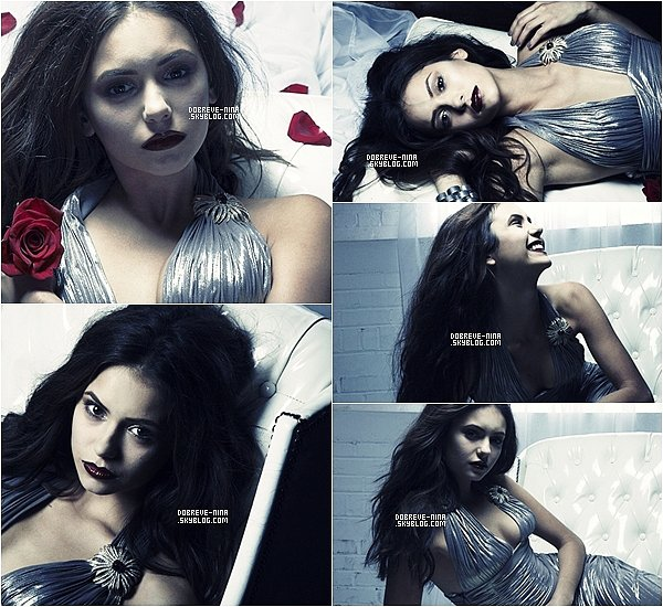 . Découvrez ou redécouvrez un photoshoot de Nina D. datant de 2009 pour G. Lotus - Magnifique. .