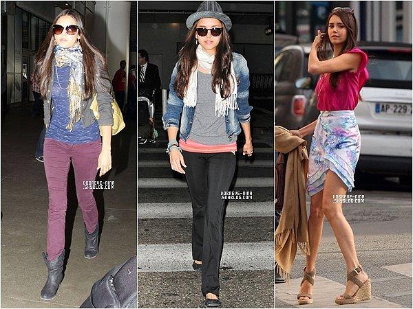 . Bien que Nina Dobrev soit une ravissante jeune femme, la mode, c'est pas toujours son fort ! .