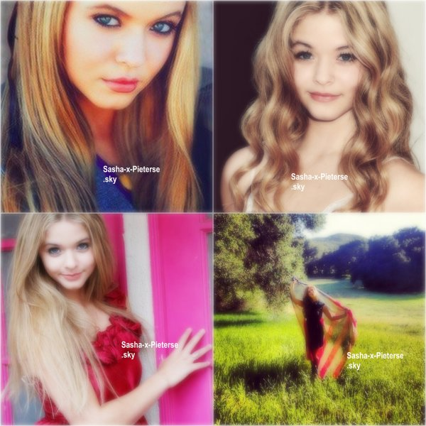photos personnelles de Sasha :