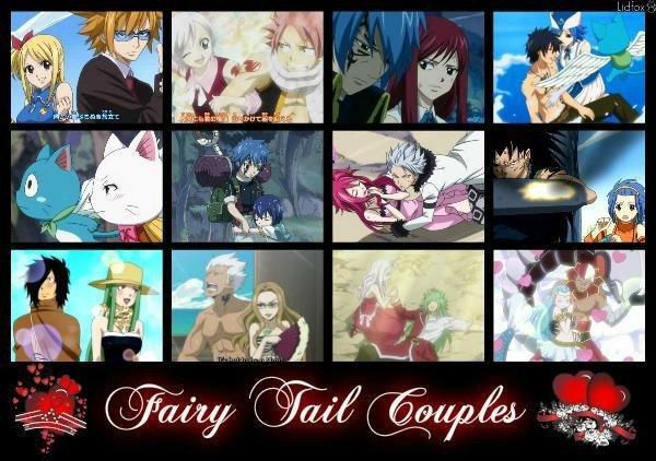 voila tous les couple de FAIRY TAIL ♥♥♥