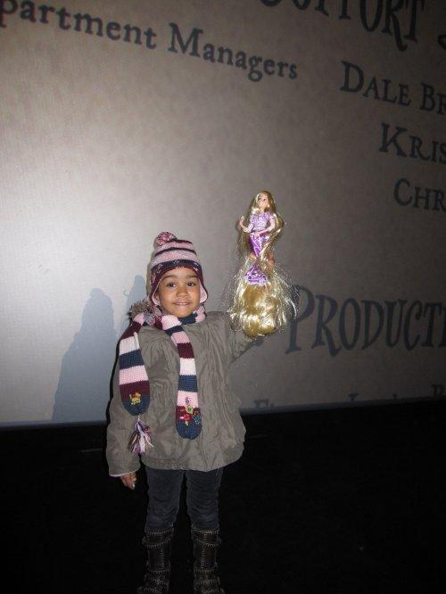 SAMEDI 4 DECEMBRE - RAIPONCE AU CINEMA