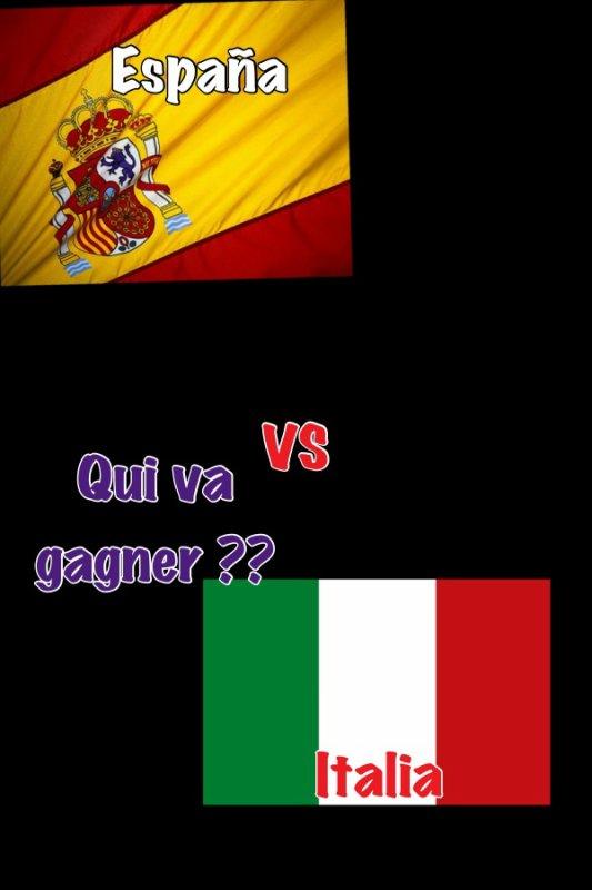 Haa Espagne VS Italie !!