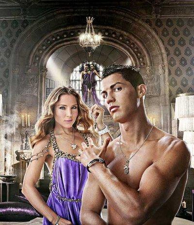 Cristiano Ronaldo y Elsa Pataky, la seducción más puntual