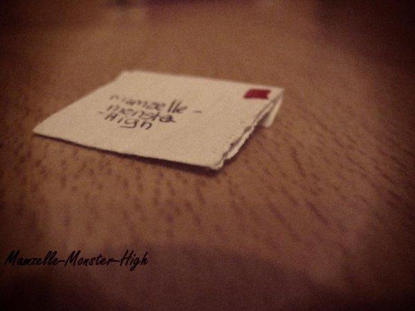 Photo-Story : La lettre.