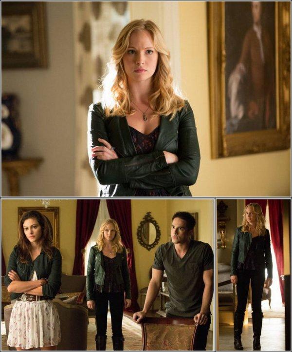 Découvres quelques stills de l'épisode 4 et 5 de The Vampire Diaries ! Tu aimes ?