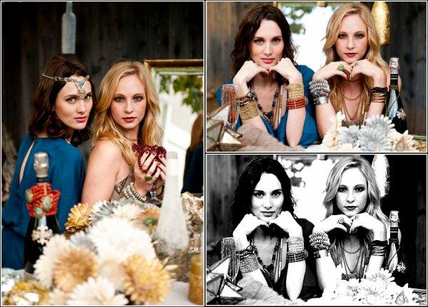 Voici de nouveaux clichés de Candice pour la marque Show me your Mumu !