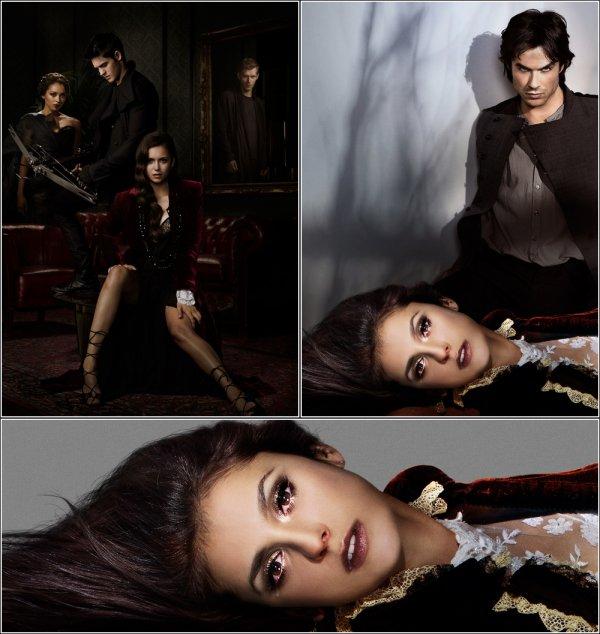 Nouvelles photospromotionnelles et stills du 4X11 et 4X15 de Vampire Diaries !