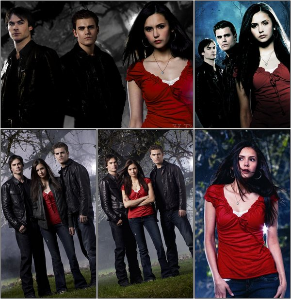 Découvres ou redécouvres les photoshoots promotionnels de Vampire Diaries Saison 1 !