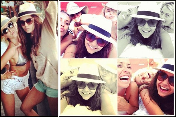 Le 27 Avril, Nina a été repéré montant dans une voiture avec Julianne H. à Miami.