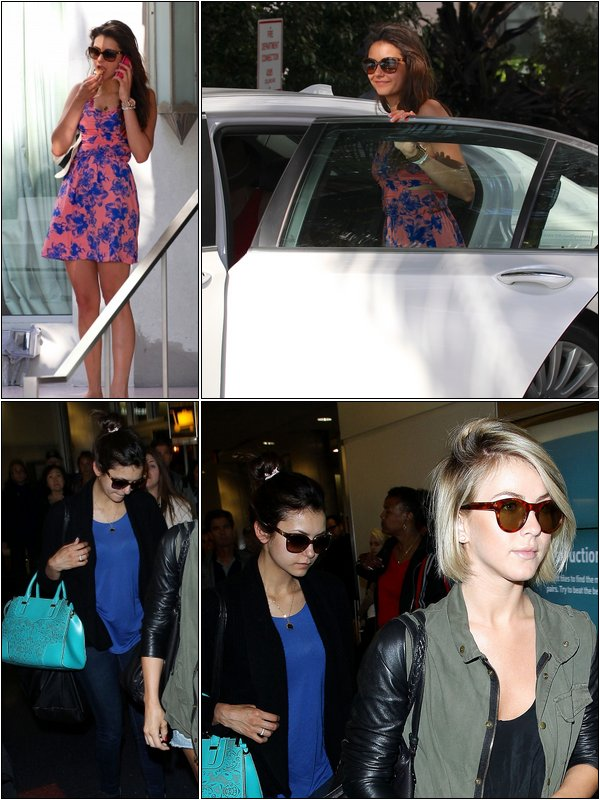Le 28 Avril, Nina, Julianne et des amies se sont encore rendues à Miami beach.