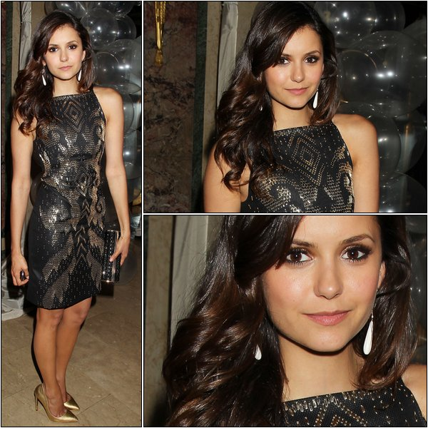Le 1er Mai 2013, Nina était à la première de The Great Gatsby à New York.