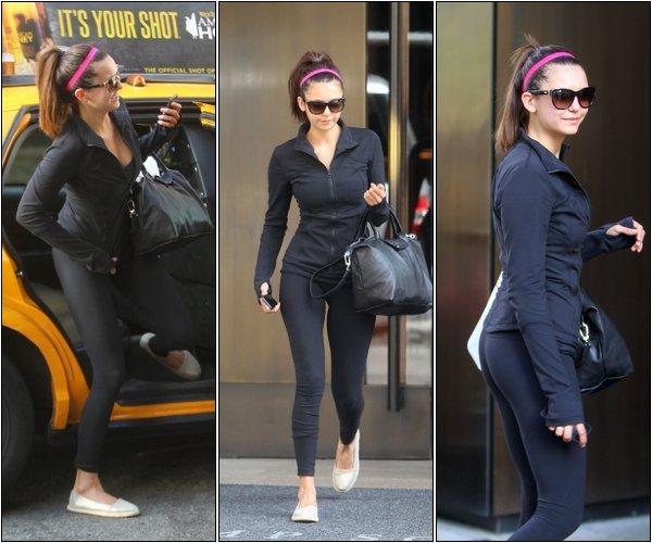 Le 5 Mai, Nina se rendait à son cours de Yoga toujours à New York.