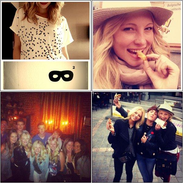 Candice a postérécemment sur Instagram, des photos d'elle en Espagne (Barcelone et Cadaques)