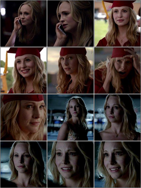 A l'occasion du dernier épisode Graduation de la saison 4 de Vampire Diaries, Candice a enregistré une chanson Graduation (Friends forever) avec l'aide de Joe King.