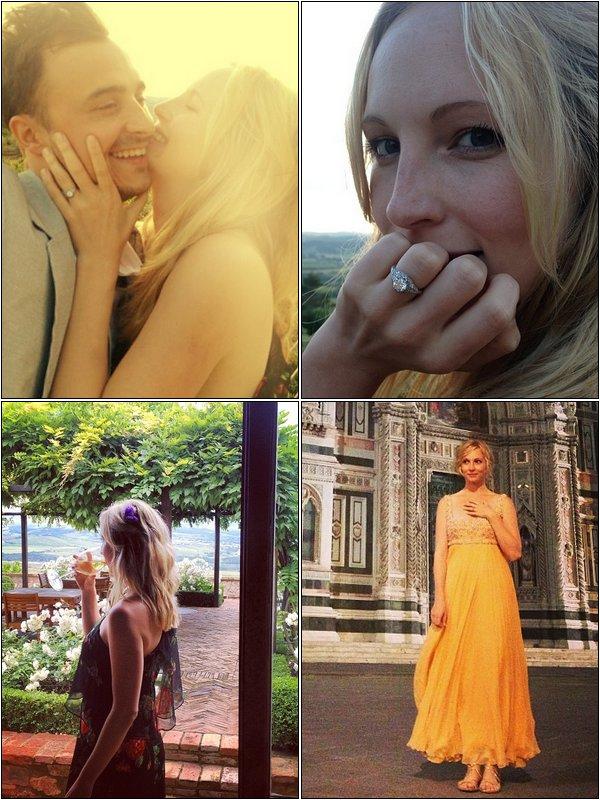 Candice Accola fiancée !