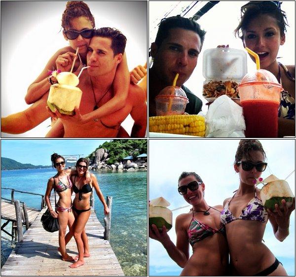 Les vacances de Juin 2013 aux quatre coins de la Terre avec Nina Dobrev !