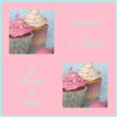 Cupcakes à la vanille façon Suzee