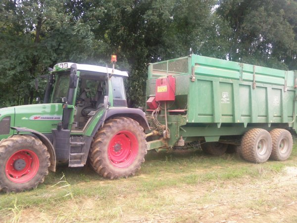 ensilage mais 2010 (chantier 1)