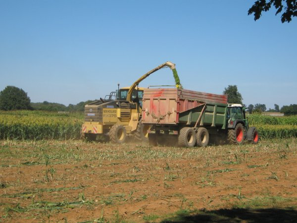 ensilage sorgho 2010 (chantier 2)