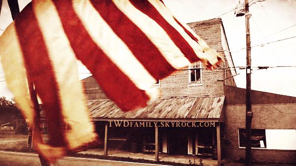 Vive l'Amérique ! Vive les drapeaux !
