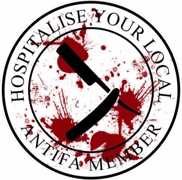Hospitalise your local antifa member