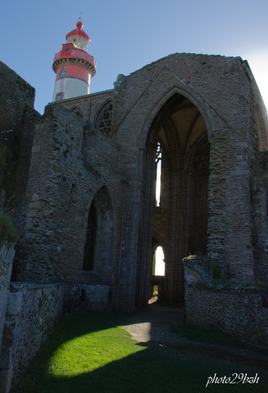 Promenade à la pointe saint Mathieu, Finistère Nord