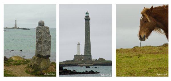 triptyque du phare de l'île vierge