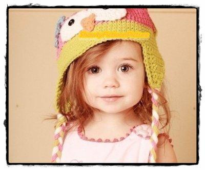 La petite fille dans le parc.