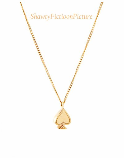 Le collier que Justin a acheté pour Kayla.
