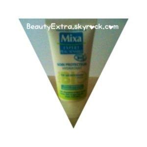 _-☸• Tesτ♯2 : Crème hydratante bio au thé vert de Mixa _-☸-_