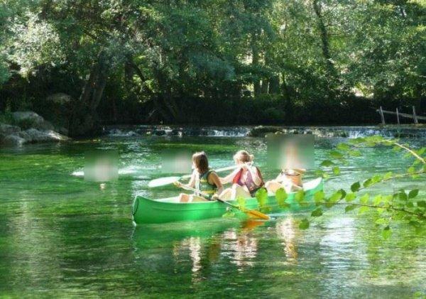 Isle sur Sorgues / Canoe descente