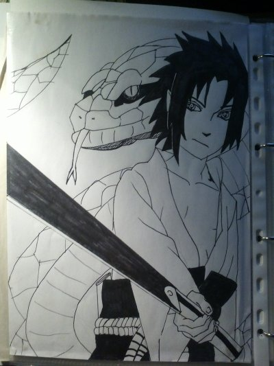 Sasuke by moi